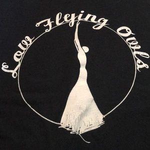 Cool Band T-shirt Low Flying Owls Men's medium Tee